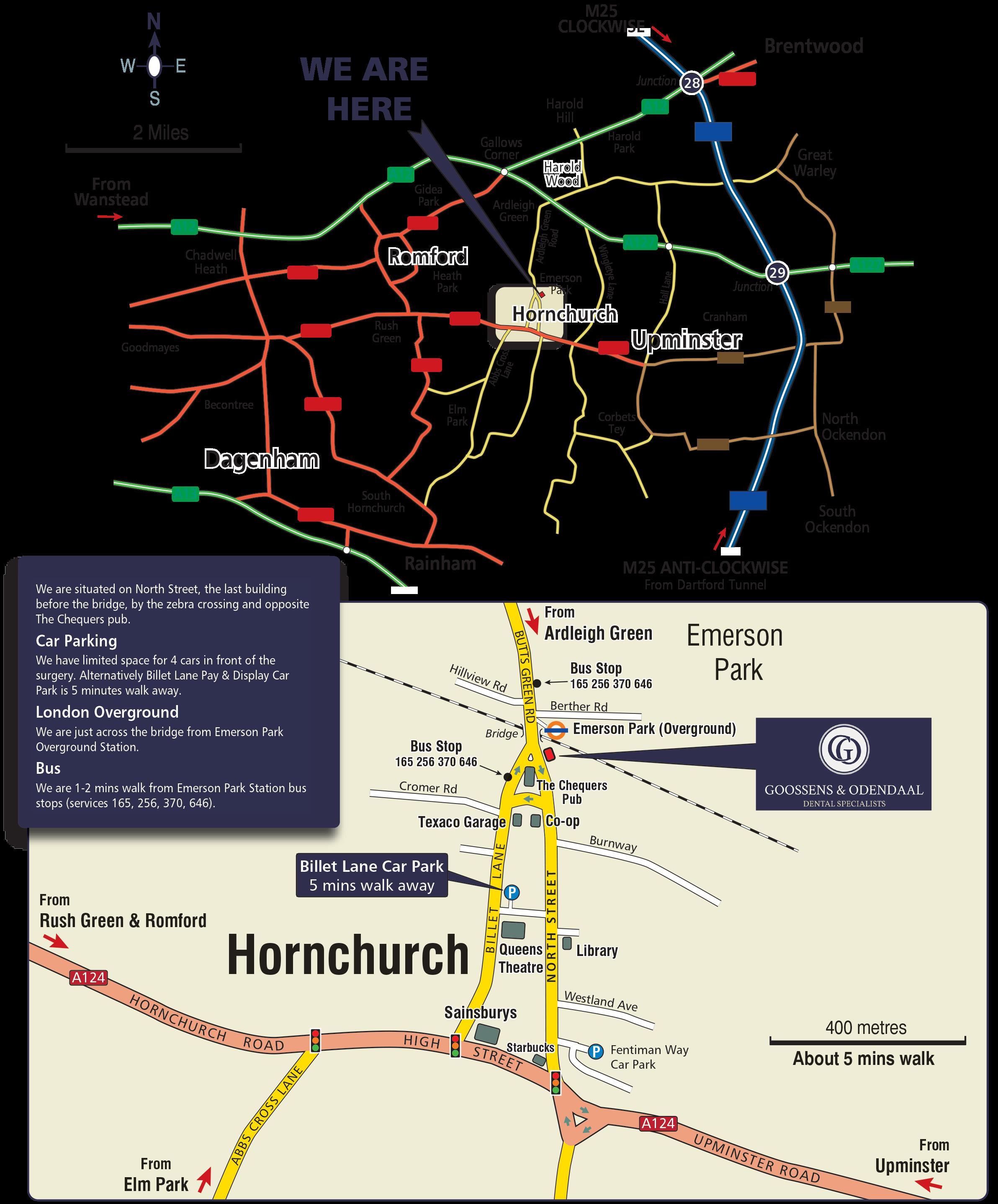 Map 140 North Street
